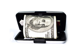 Carteira do dinheiro Imagens de Stock