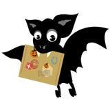Carteiro de Halloween Ilustração Stock