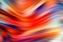 Cartel colorido moderno del flujo Fondo del color de la forma de onda Dise?o del arte para su proyecto de dise?o stock de ilustración