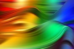 Cartel colorido moderno del flujo Fondo l?quido del color de la forma de la onda Dise?o del arte para su proyecto de dise?o stock de ilustración