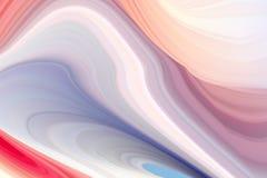 Cartel colorido moderno del flujo Fondo l?quido del color de la forma de la onda Dise?o del arte para su proyecto de dise?o Ilust ilustración del vector
