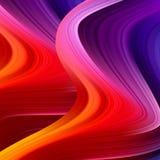 Cartel colorido moderno del flujo Fondo l?quido del color de la forma de la onda libre illustration