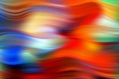 Cartel colorido moderno del flujo Fondo l?quido del color de la forma de la onda Dise?o del arte para su proyecto de dise?o Vecto stock de ilustración