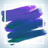 Cartel de acrílico cuadrado ideal del movimiento de la motivación Letras del texto de un refrán inspirado Plantilla tipográfica d Imagenes de archivo