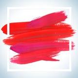 Cartel de acrílico cuadrado ideal del movimiento de la motivación Letras del texto de un refrán inspirado Plantilla tipográfica d Foto de archivo libre de regalías