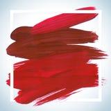 Cartel de acrílico cuadrado ideal del movimiento de la motivación Letras del texto de un refrán inspirado Plantilla tipográfica d Fotografía de archivo libre de regalías