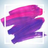 Cartel de acrílico cuadrado ideal del movimiento de la motivación Letras del texto de un refrán inspirado Plantilla tipográfica d Foto de archivo