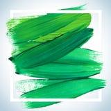 Cartel de acrílico cuadrado ideal del movimiento de la motivación Letras del texto de un refrán inspirado Plantilla tipográfica d ilustración del vector