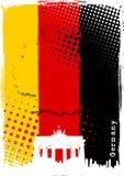 Cartel de Alemania Imagenes de archivo