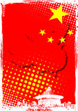 Cartel de China Fotografía de archivo libre de regalías