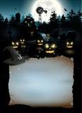 Cartel de Halloween Foto de archivo