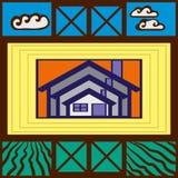 Cartel de la calle Imagen de archivo libre de regalías
