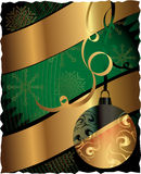 CARTEL de la Navidad Imagen de archivo