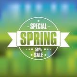 Cartel de la primavera Fotografía de archivo