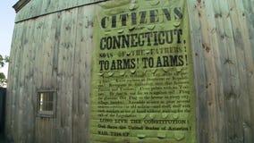 Cartel de la propaganda de Connecticut (1 de 2) metrajes