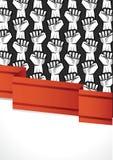 Cartel de la revolución Imagen de archivo libre de regalías