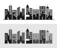 Cartel de la tipografía de Nueva York Concepto para la producción de la impresión Fotografía de archivo libre de regalías