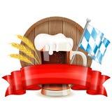 Cartel de Oktoberfest Fotografía de archivo libre de regalías