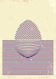 Cartel de Pascua Fotografía de archivo libre de regalías