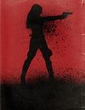 Cartel de película de la acción Fotografía de archivo libre de regalías