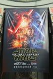 Cartel de Star Wars Imagenes de archivo