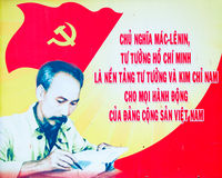Cartel de Vietnam Fotos de archivo