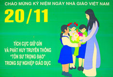 Cartel de Vietnam imágenes de archivo libres de regalías
