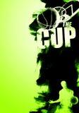 Cartel del baloncesto Imagen de archivo libre de regalías