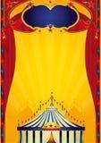 Cartel del circo de Beautifull ilustración del vector