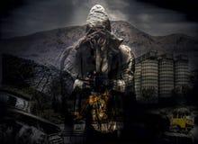 Cartel del día de la apocalipsis Imagenes de archivo