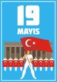 cartel del día de la juventud libre illustration