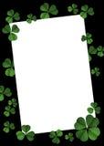 Cartel del día del St Patrick Fotografía de archivo libre de regalías