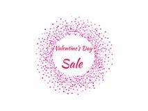 Cartel del día del ` s de la tarjeta del día de San Valentín Imágenes de archivo libres de regalías