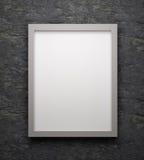 Cartel del espacio de Ank o marco del arte que espera para ser llenado Fotografía de archivo libre de regalías