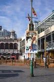 Cartel del festival de música en Iquique, Chile fotos de archivo
