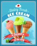 Cartel del helado libre illustration
