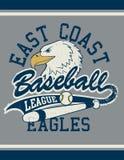 Cartel del jersey de la liga de fútbol de la costa oeste imagen de archivo libre de regalías