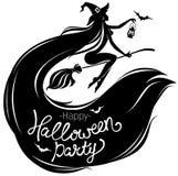 Cartel del partido del feliz Halloween libre illustration