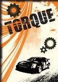 Cartel del vector de Grunge Foto de archivo