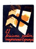 Cartel: El feixisme piensa Espanya empresonar Guerra civil española fotos de archivo libres de regalías