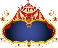 Cartel mágico del circo Imagen de archivo libre de regalías