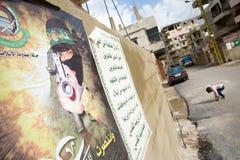Cartel militante Fotos de archivo