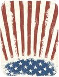 Cartel patriótico americano Fotos de archivo libres de regalías