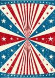 Cartel patriótico de Grunge