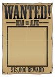 Cartel querido Imagen de archivo libre de regalías