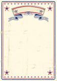 Cartel sucio de los E.E.U.U. Imagenes de archivo