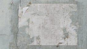 Cartel viejo Imagen de archivo libre de regalías