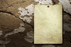 Cartel viejo de la vendimia foto de archivo libre de regalías