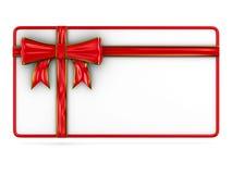 Cartelera con el arco en blanco Imágenes de archivo libres de regalías