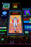 Cartelera de Glico en Osaka, Japón Imágenes de archivo libres de regalías